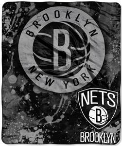 Northwest NBA Brooklyn Nets Raschel Throws