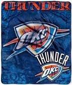Northwest NBA OC Thunder Raschel Throws