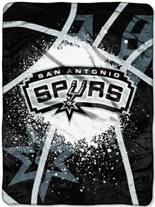 Northwest NBA San Antonio Spurs Raschel Throws