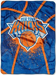 Northwest NBA New York Knicks Raschel Throws