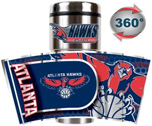 NBA Atlanta Hawks 16oz Tumbler w/ Metallic Wrap