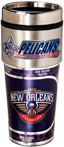 NBA New Orleans Pelicans Tumbler w/ Metallic Wrap