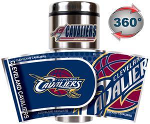 NBA Cleveland Cavaliers Tumbler w/ Metallic Wrap
