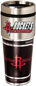 NBA Houston Rockets 16oz Tumbler w/ Metallic Wrap