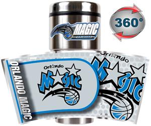NBA Orlando Magic 16oz Tumbler w/ Metallic Wrap
