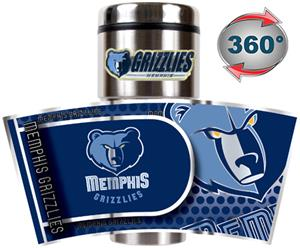 NBA Memphis Grizzlies Tumbler w/ Metallic Wrap