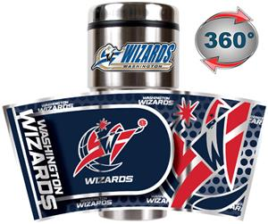 NBA Washington Wizards Tumbler w/ Metallic Wrap