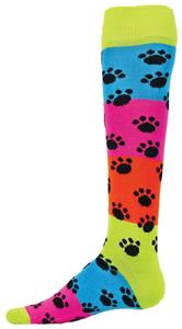Red Lion Rainbow Paws Knee High Socks