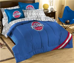 Northwest NBA Detroit Pistons Full Bed In Bag