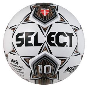 Select Numero 10 Club Soccer Ball-White/Gold