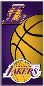 Northwest NBA Los Angeles Lakers Beach Towels
