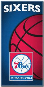 Northwest NBA Philadelphia 76ers Beach Towels