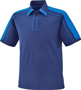 North End Sport Sonic Mens Pique Polyester Polo
