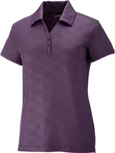 North End Sport Maze Ladies Stretch Embossed Polo