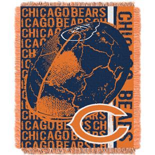 Northwest NFL Chicago Bears Jacquard Throws