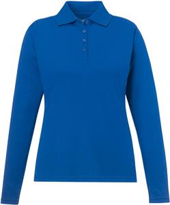 Core365 Pinnacle Ladies Long Sleeve Pique Polo