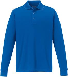 Core365 Pinnacle Mens Long Sleeve Pique Polo