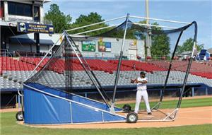 The Grand Slam Professional Portable Batting Cage