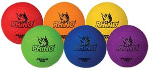 Champion Rhino Skin Pebble-Tek Soccer Ball Set