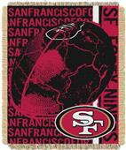 Northwest NFL San Francisco 49ers Jacquard Throws