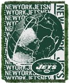 Northwest NFL New York Jets Jacquard Throws