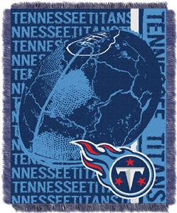 Northwest NFL Tennessee Titans Jacquard Throws