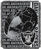 Northwest NFL Oakland Raiders Jacquard Throws