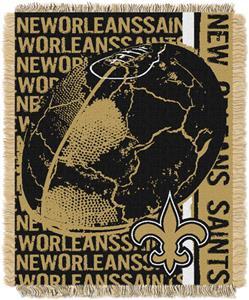 Northwest NFL New Orleans Saints Jacquard Throws