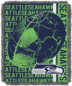 Northwest NFL Seattle Seahawks Jacquard Throws