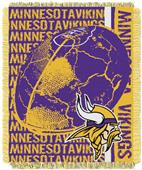 Northwest NFL Minnesota Vikings Jacquard Throws