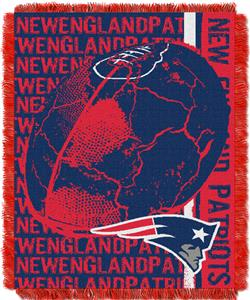 Northwest NFL New England Patriots Jacquard Throws
