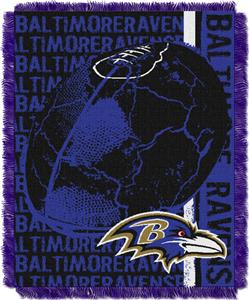 Northwest NFL Baltimore Ravens Jacquard Throws