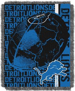 Northwest NFL Detroit Lions Jacquard Throws