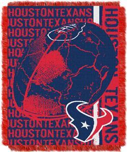Northwest NFL Houston Texans Jacquard Throws