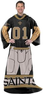 Northwest NFL New Orleans Saints Comfy Throws