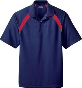 Extreme Eperformance Mens Colorblock Pique Polo