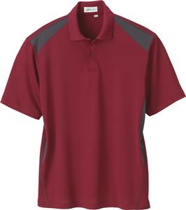 Il Migliore Mens Recycled Polyester Honeycomb Polo