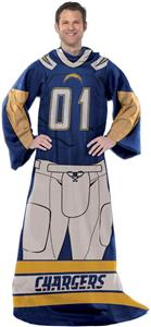 Northwest NFL San Diego Chargers Comfy Throws