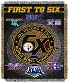 "Northwest NFL Pittsburgh Steelers 48""x60"" Throws"