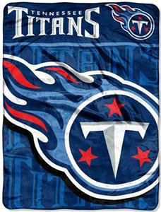 Northwest NFL Tennessee Titans Micro Raschel Throw