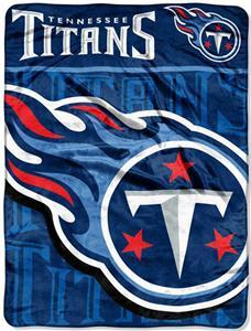 Northwest NFL Tennessee Titans Micro Raschel Throw