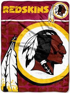 Northwest NFL Redskins Micro Raschel Throws