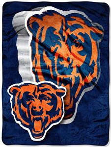 Northwest NFL Chicago Bears Micro Raschel Throws