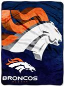 Northwest NFL Denver Broncos Micro Raschel Throws