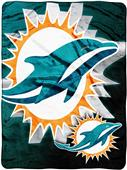 Northwest NFL Miami Dolphins Micro Raschel Throws