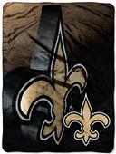 Northwest NFL Saints Micro Raschel Throws