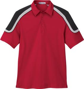 Extreme Mens EDRY Color Block Polo