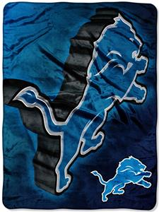 Northwest NFL Detroit Lions Micro Raschel Throws