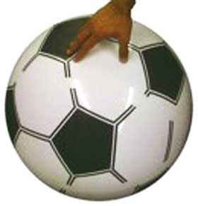 Inflatable Soccer Beach Ball -soccer gifts