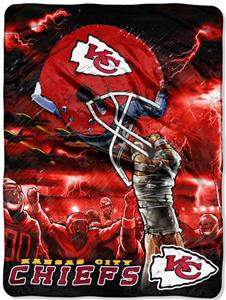 Northwest NFL Kansas City Chiefs Raschel Throws